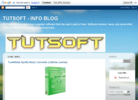 tutsoft-info.blogspot.com