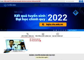 tuyensinh.ctu.edu.vn