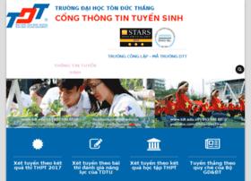 tuyensinh.tdt.edu.vn