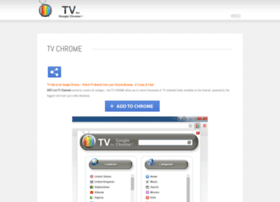 tv-chrome.com