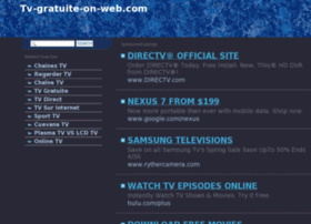 Keywords: tv online, online television, go tv, watch tv pc, iptv service ...