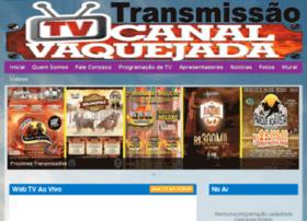tvcanalvaquejada.com.br