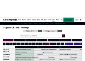 tvguideuk.telegraph.co.uk