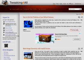 tweaking4all.com