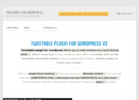 tweetable.handypress.io