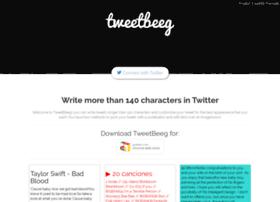 tweetbeeg.com