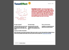 tweeteffect.com