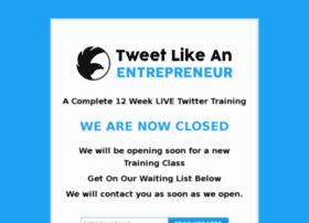 tweetlikeanentrepreneur.com