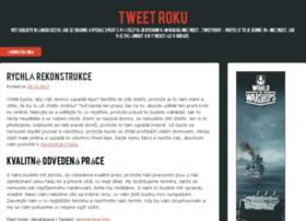 tweetroku.cz