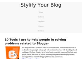 tweets.stylifyyourblog.com
