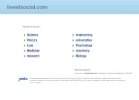 tweetsocial.com