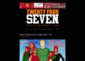 twentyfourseven.thecomicseries.com