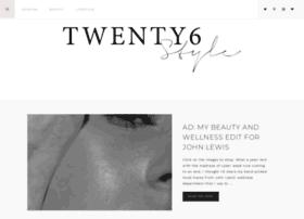 twentysixstyle.com
