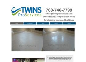 twinsproservices.com