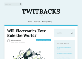 Twitbacks.com