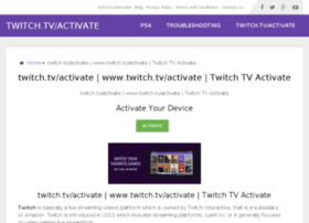 twitchtvactivate.com