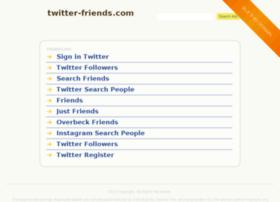 twitter-friends.com