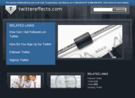 twittereffects.com