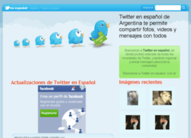 twitterenespanol.com.ar