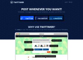twittimer.com