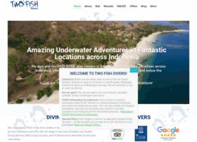 twofishdivers.com