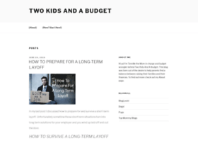 twokidsandabudget.com