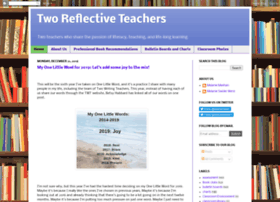tworeflectiveteachers.blogspot.com