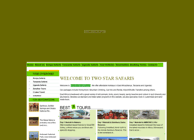 twostarsafaris.com