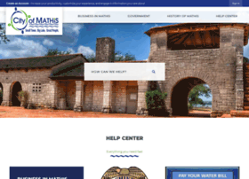 tx-mathis.civicplus.com