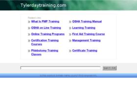 tylerdaytraining.com