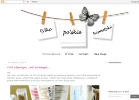 tylkopolskiekosmetyki.blogspot.com