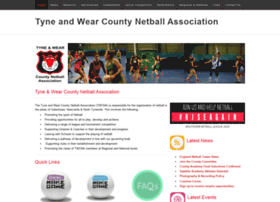 tyneandwearnetball.net