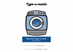 type-o-matic.net