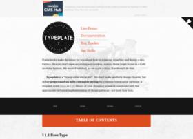 typeplate.com