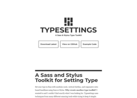typesettings.io