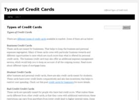 typesofcreditcards.org