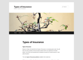 typesofinsurance.org