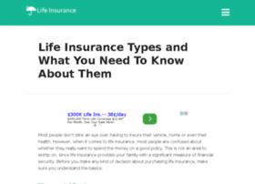 typesoflifeinsurance.com
