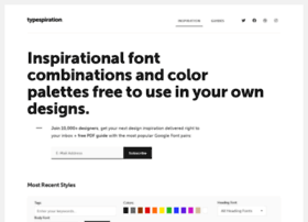 typespiration.com