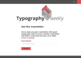 typographyweekly.com