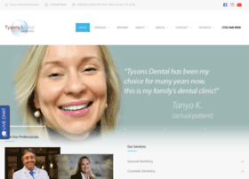 tysons-dental.com