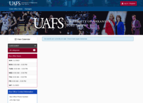 uafs.universitytickets.com