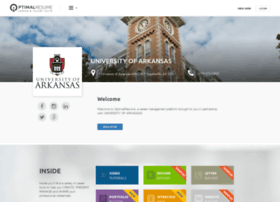 uark.optimalresume.com
