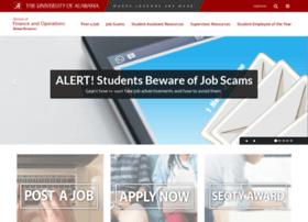uastudentjobs.ua.edu