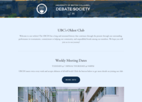 ubcdebate.com