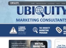 ubiquitymarketingconsultants.com