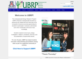 ubrp.arizona.edu