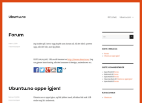ubuntu.no