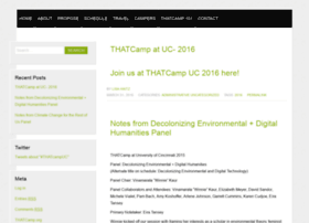 ucincinnati2015.thatcamp.org