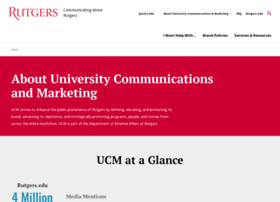 ucm.rutgers.edu